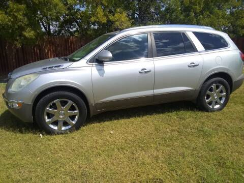 2008 Buick Enclave for sale at El Jasho Motors in Grand Prairie TX