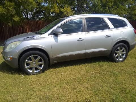2008 Buick Enclave for sale at El Jasho Motors in Grand Prairie TX