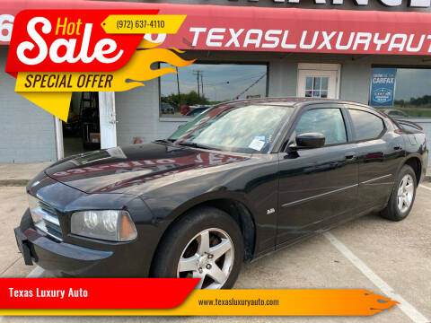 2010 Dodge Charger for sale at Texas Luxury Auto in Cedar Hill TX