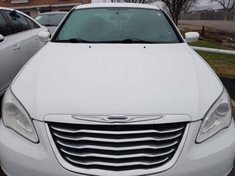 2014 Chrysler 200 for sale at Auto Plaza in Irving TX