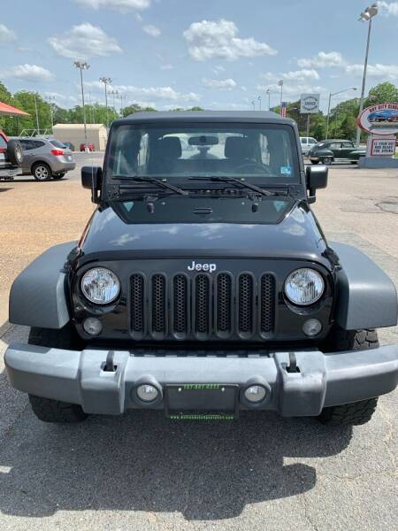 2016 Jeep Wrangler Unlimited for sale at Calvary Cars & Service Inc. in Norfolk VA