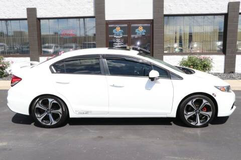 2015 Honda Civic for sale at Ultimate Auto Deals DBA Hernandez Auto Connection in Fort Wayne IN