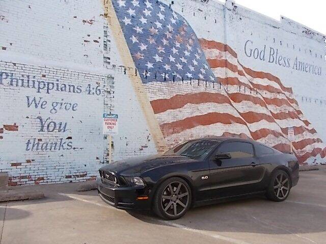 2013 Ford Mustang for sale at LARRY'S CLASSICS in Skiatook OK