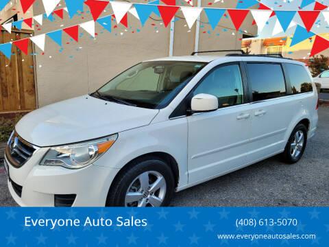 2011 Volkswagen Routan for sale at Everyone Auto Sales in Santa Clara CA