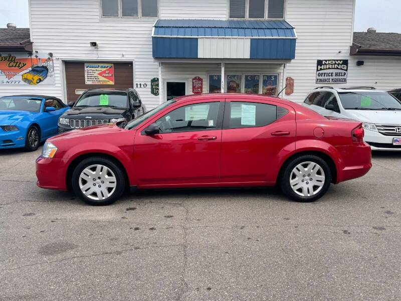 2014 Dodge Avenger for sale at Twin City Motors in Grand Forks ND