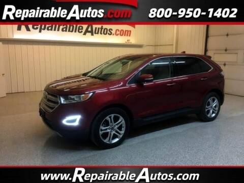 2015 Ford Edge for sale at Ken's Auto in Strasburg ND