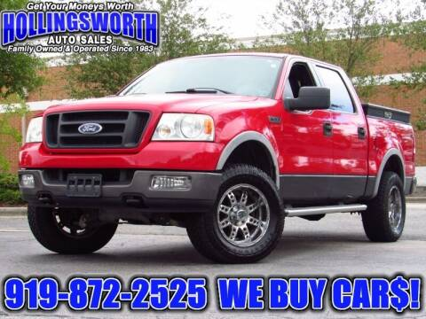 2005 Ford F-150 for sale at Hollingsworth Auto Sales in Raleigh NC