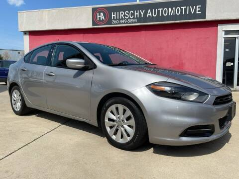 2014 Dodge Dart for sale at Hirschy Automotive in Fort Wayne IN