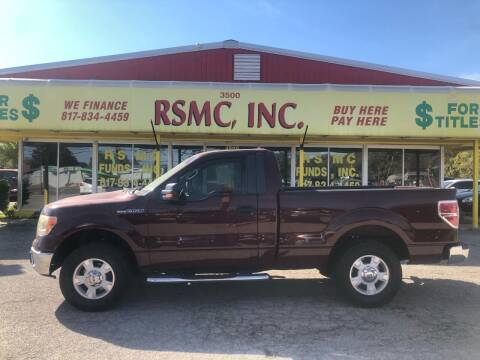 2009 Ford F-150 for sale at Ron Self Motor Company in Fort Worth TX