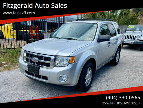 2009 Ford Escape for sale at Fitzgerald Auto Sales in Jacksonville FL