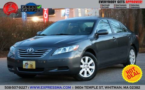 2007 Toyota Camry Hybrid for sale at Auto Sales Express in Whitman MA