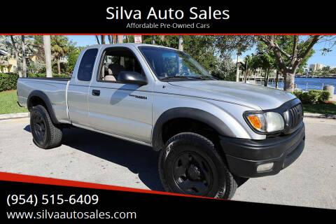 2001 Toyota Tacoma for sale at Silva Auto Sales in Pompano Beach FL