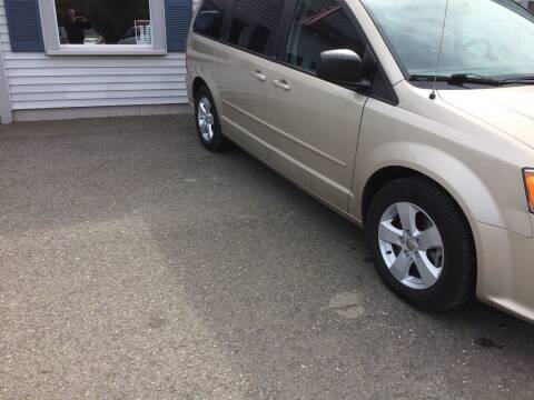 2013 Dodge Grand Caravan for sale at CLARKS AUTO SALES INC in Houlton ME