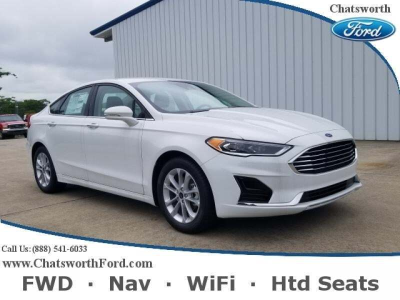 2020 Ford Fusion Hybrid for sale in Chatsworth, GA