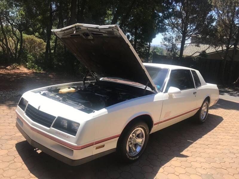 1987 Chevrolet Monte Carlo for sale at Steven Pope in Auburn CA