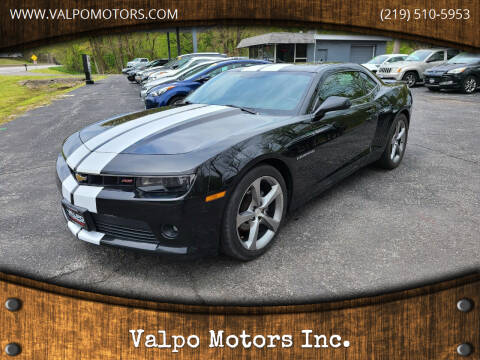 2014 Chevrolet Camaro for sale at Valpo Motors Inc. in Valparaiso IN