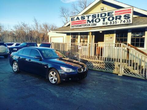 2005 BMW 5 Series for sale at EASTSIDE MOTORS in Tulsa OK