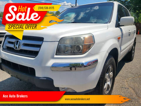 2006 Honda Pilot for sale at Ace Auto Brokers in Charlotte NC