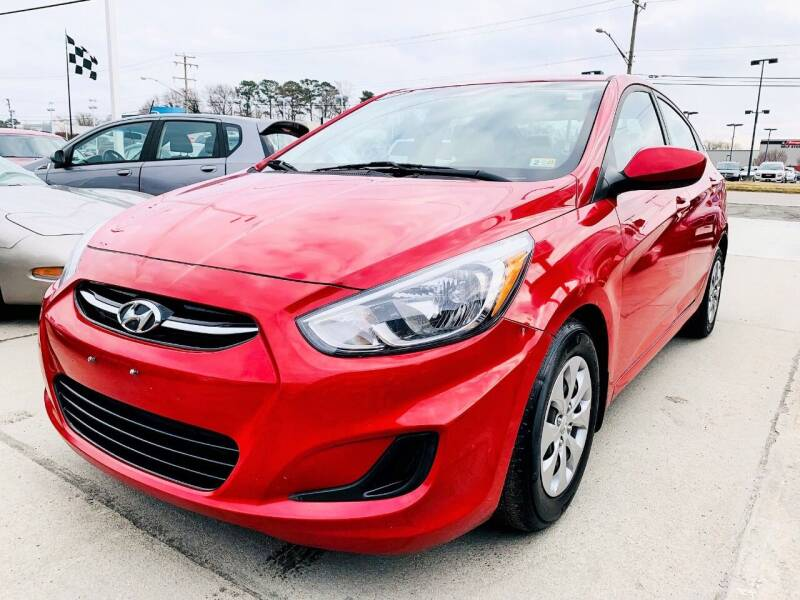 2016 Hyundai Accent for sale at Auto Space LLC in Norfolk VA