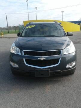 2010 Chevrolet Traverse for sale at Parkside Auto in Niagara Falls NY