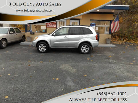 2004 Toyota RAV4 for sale at 3 Old Guys Auto Sales in Newburgh NY