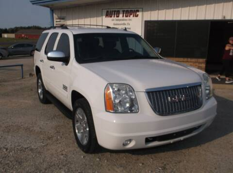 2012 GMC Yukon for sale at AUTO TOPIC in Gainesville TX