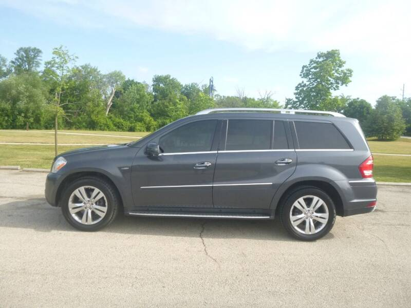 2012 Mercedes-Benz GL-Class for sale at NEW RIDE INC in Evanston IL