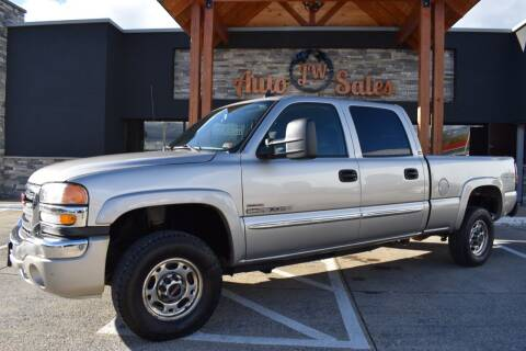 2006 GMC Sierra 2500HD for sale at JW Auto Sales LLC in Harrisonburg VA