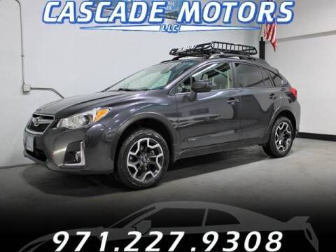 2017 Subaru Crosstrek for sale at Cascade Motors in Portland OR