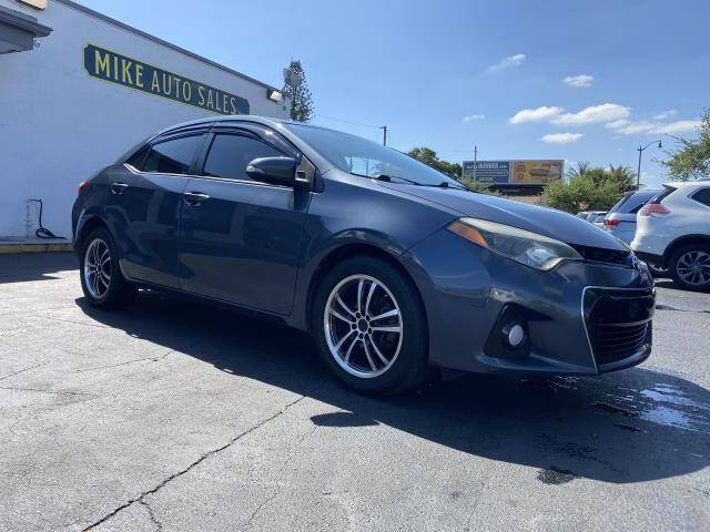 2014 Toyota Corolla for sale at Mike Auto Sales in West Palm Beach FL