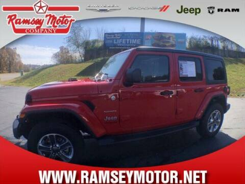 2020 Jeep Wrangler Unlimited for sale at RAMSEY MOTOR CO in Harrison AR