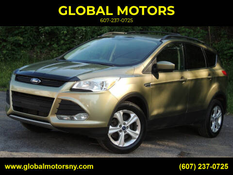 2013 Ford Escape for sale at GLOBAL MOTORS in Binghamton NY