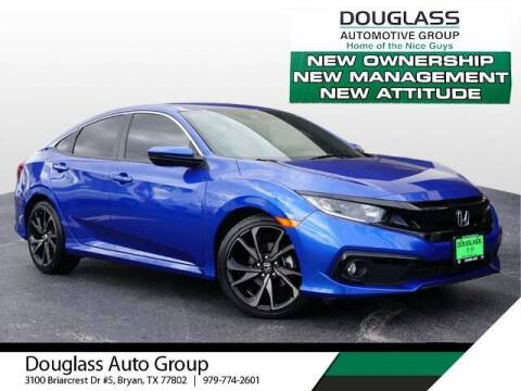 2019 Honda Civic for sale at Douglass Automotive Group in Central Texas TX