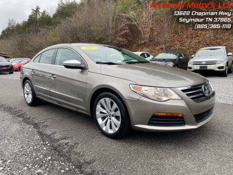 2012 Volkswagen CC for sale at Armenia Motors in Seymour TN
