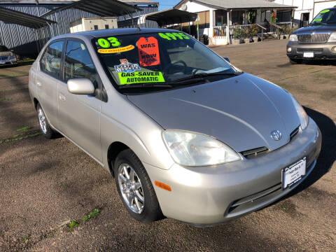 2003 Toyota Prius for sale at Freeborn Motors in Lafayette, OR