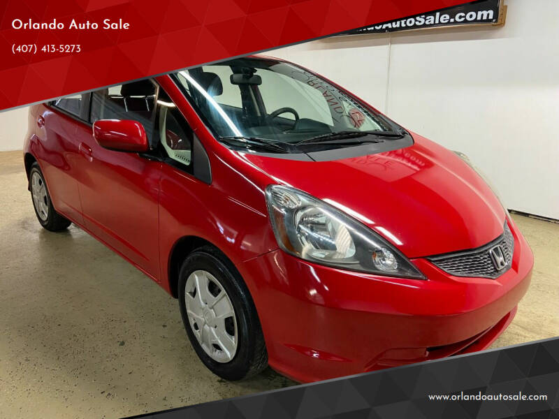 2013 Honda Fit for sale at Orlando Auto Sale in Orlando FL