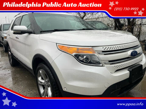 2011 Ford Explorer for sale at Philadelphia Public Auto Auction in Philadelphia PA