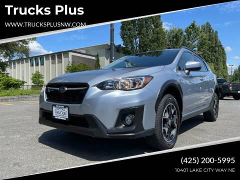 2018 Subaru Crosstrek for sale at Trucks Plus in Seattle WA
