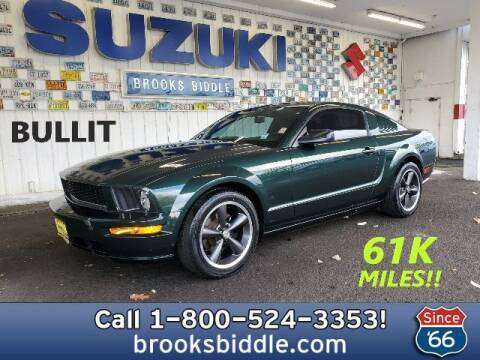 2008 Ford Mustang for sale at BROOKS BIDDLE AUTOMOTIVE in Bothell WA