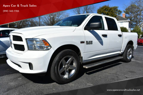 2017 RAM Ram Pickup 1500 for sale at Apex Car & Truck Sales in Apex NC