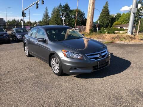 2012 Honda Accord for sale at KARMA AUTO SALES in Federal Way WA