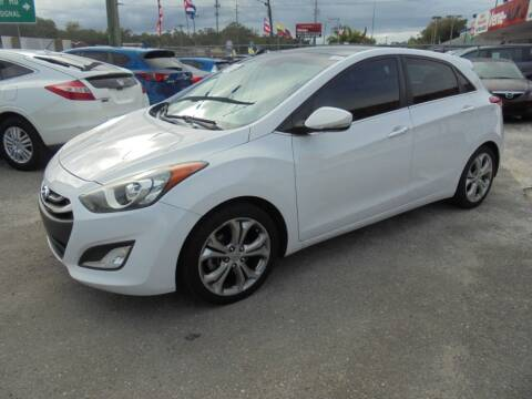 2013 Hyundai Elantra GT for sale at Automax Wholesale Group LLC in Tampa FL
