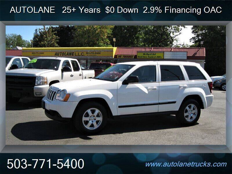 2008 Jeep Grand Cherokee for sale at Auto Lane in Portland OR