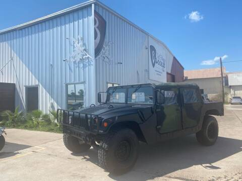 1991 HUMMER H1 SUT for sale at Barrett Auto Gallery in San Juan TX
