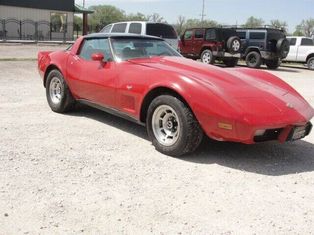 1978 Chevrolet Corvette for sale at Frieling Auto Sales in Manhattan KS
