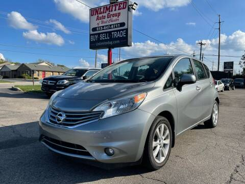 2014 Nissan Versa Note for sale at Unlimited Auto Group in West Chester OH