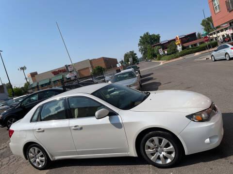 2010 Subaru Impreza for sale at Sanaa Auto Sales LLC in Denver CO