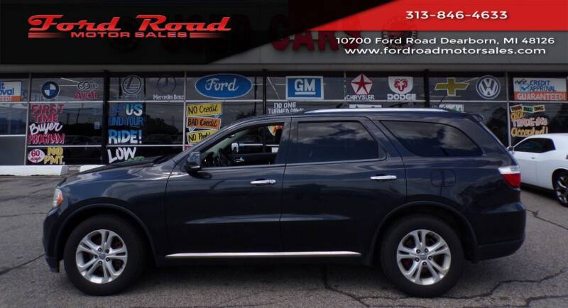 2013 Dodge Durango for sale at Ford Road Motor Sales in Dearborn MI