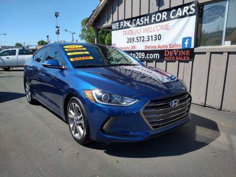 2017 Hyundai Elantra for sale at Devine Auto Sales in Modesto CA