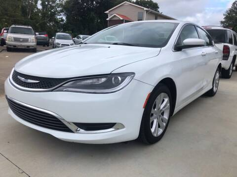 2015 Chrysler 200 for sale at Wolff Auto Sales in Clarksville TN